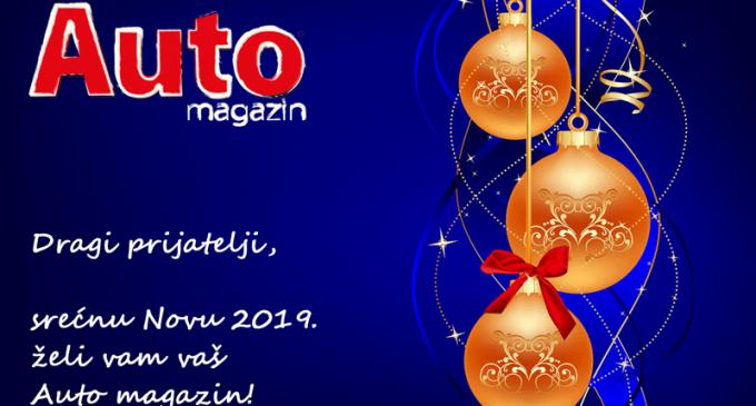 Srećne novogodišnje praznike želi vam redakcija Auto magazina!
