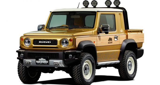 Moć transformacije: Suzuki Jimny Pickup