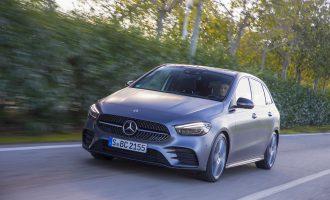 Test na Majorci: novi Mercedes B klase