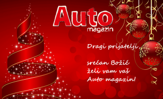 Srećne božićne praznike želi vam redakcija Auto magazina!