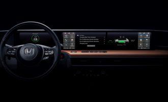 Honda otkriva unutrašnjost novog električnog automobila