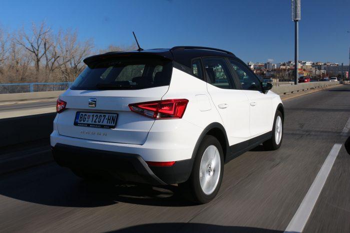 auto magazin srbija test seat arona 1.0 tsi style
