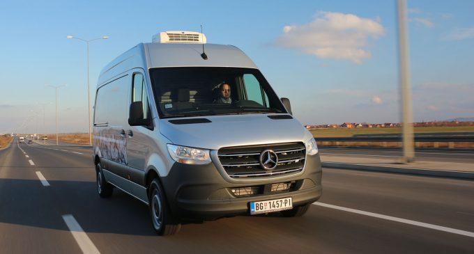 Novi Mercedes Sprinter pod lupom novinara Auto magazina