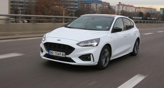 Novi Ford Focus na testu Auto magazina
