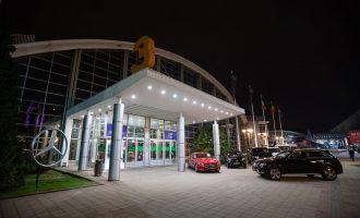 Mercedes u Beogradu na svetskom nivou