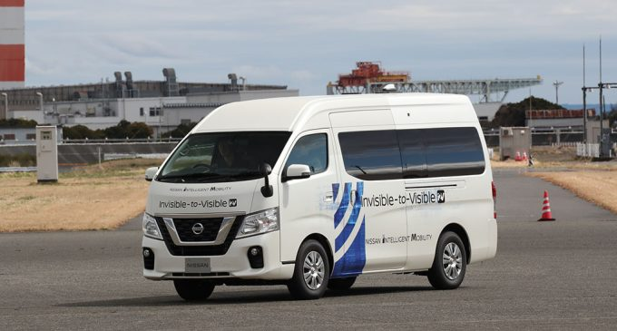 Nissan pretvara nevidljivo u vidljivo uz pomoć 5G mreže