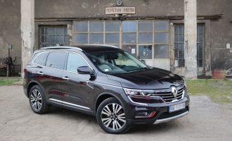 TEST: Renault Koleos Initiale Paris dCi 175 4WD X-Tronic