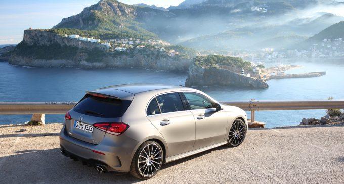 TEST na Majorci: Mercedes-AMG A 35 4MATIC