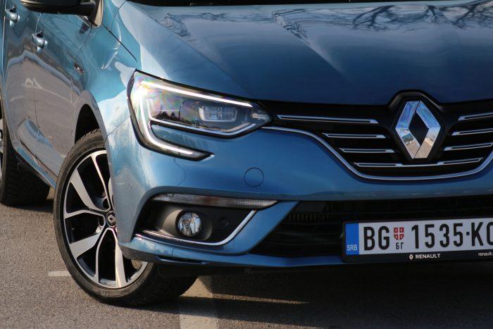 auto magazin srbija test renault megane tce 140 test