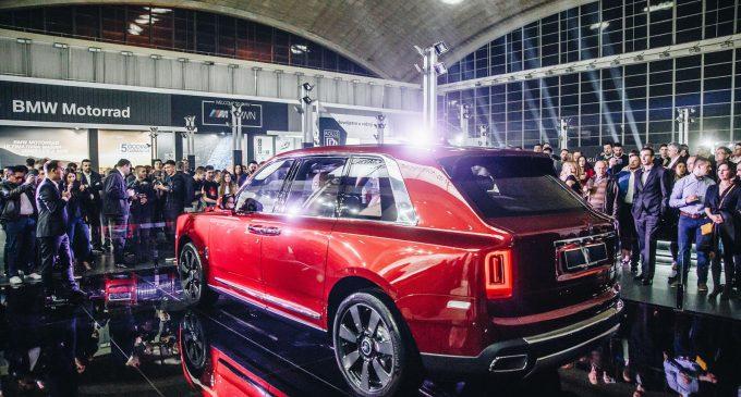 Novi Rolls-Royce Cullinan predstavljen u Beogradu