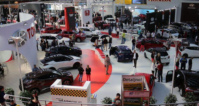 Finalne pripreme za Beogradski sajam automobila