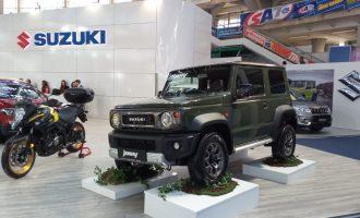 Novi Jimny zvezda štanda Suzukija