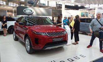 Svetska sajamska premijera u Beogradu: Range Rover Evoque