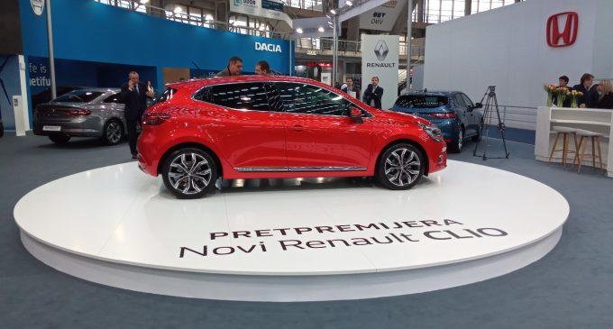 Novi Renault Clio 5 pravo iz Ženeve stiže u Beograd