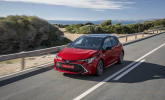 TEST na Palma de Majorci: nova Toyota Corolla