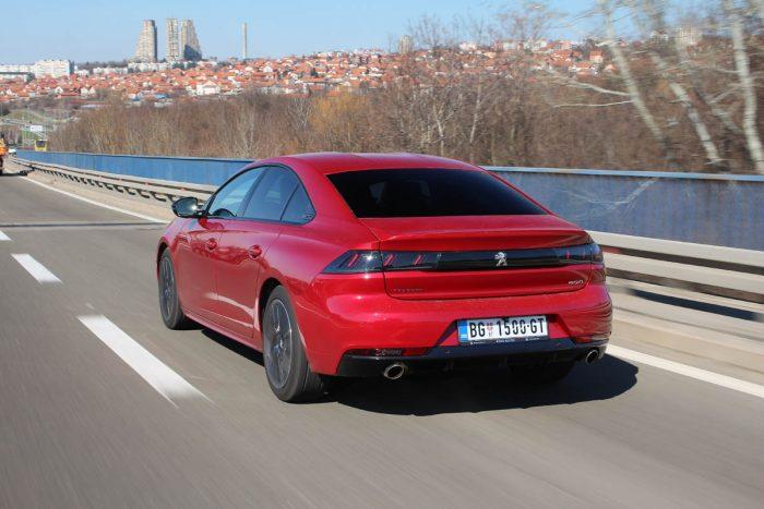 auto magazin srbija test peugeot 508 gt