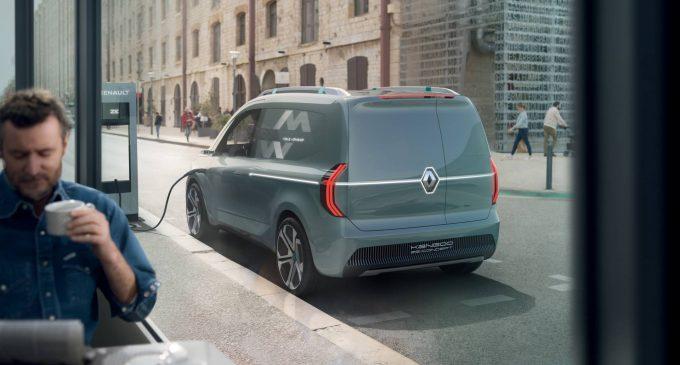 Renault Kangoo ZE Concept najavljuje novi Kangoo