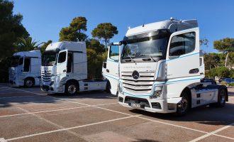 Na putevima oko Barselone vozimo novi Mercedes Actros