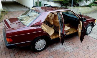 Mercedes 190E iz 1986. ima samo 462 km. Košta kao nov, jer i jeste nov