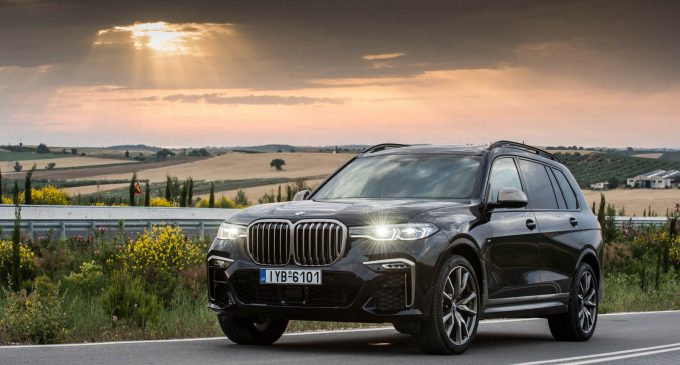Luxury Travel: vozimo BMW The 7 i BMW The X7