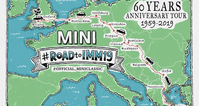 Mini slavi 60. rođendan karavanom koji prolazi i kroz Srbiju