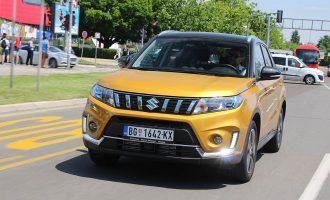Bogato opremljena Suzuki Vitara 1,4 Boosterjet za173 evra mesečno