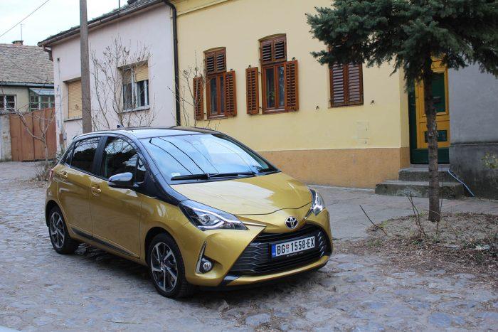 auto magazin srbija test toyota yaris 1.5 iskustva