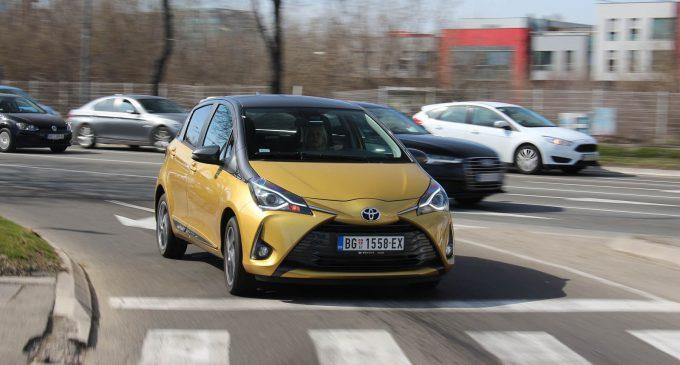 Toyota Yaris sa 1,5 benzincem 11.790 umesto 14.520 evra