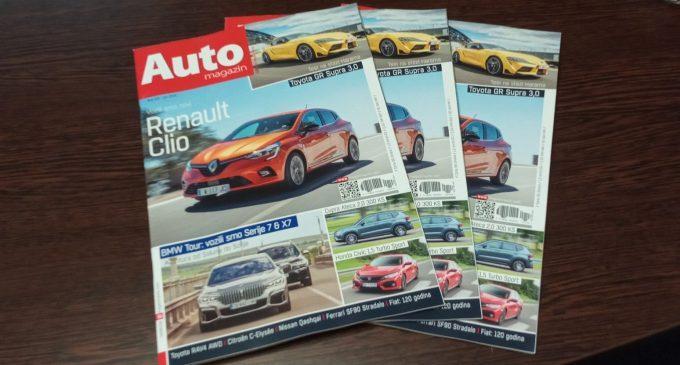 Na kioscima je novi broj Auto magazina