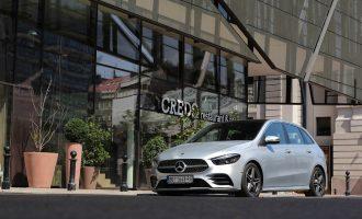 Testiramo novi Mercedes B 200
