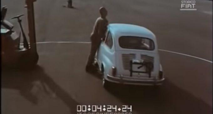 Kreš test fiće i pešaka od pre 55 godina