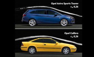 Redizajnirana Opel Astra ima aerodinamiku kao Calibra