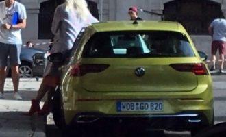 VW Golf 8 snimljen bez kamuflaže