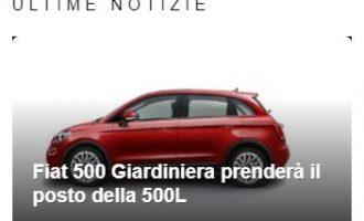 Fiat 500 Giardiniera naslednik modela 500L u Kragujevcu?
