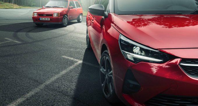 Opel Corsa GS Line je omaž prvoj Corsi GSi