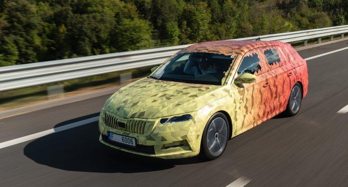 Zagrevanje pred otkrivanje: nova Škoda Octavia