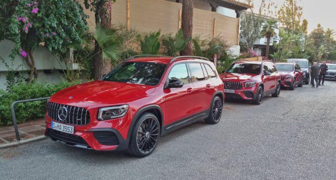 U Marbelji vozimo novi Mercedes GLB
