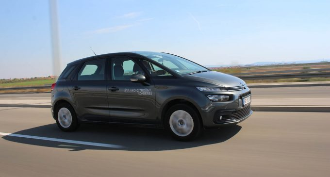 TEST: Citroën C4 SpaceTourer 1,5 BlueHDi Feel