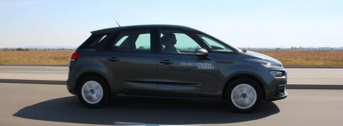 TEST: Citroën C4 SpaceTourer 1,5 BlueHDi Feel