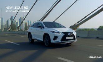 Reklama za redizajnirani Lexus RX snimljena u Beogradu