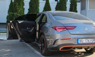 Testiramo Mercedes CLA 200