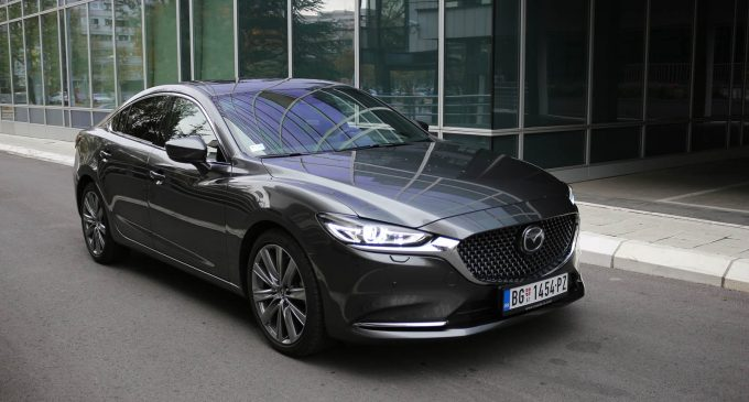 TEST: Mazda 6 CD184 AT Takumi Plus