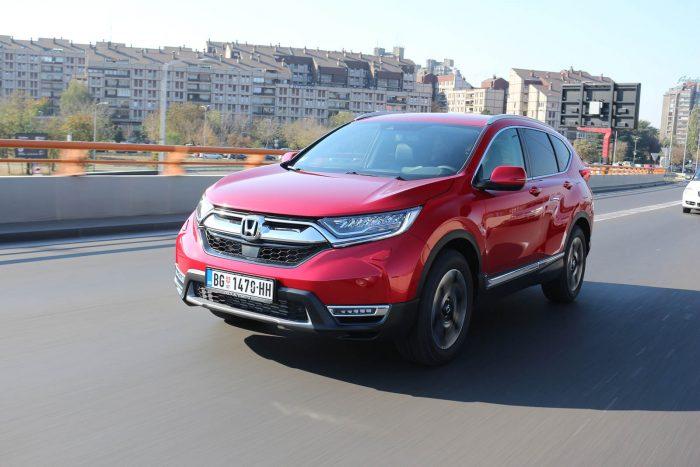 Auto magazin Srbija Honda CR-V Test