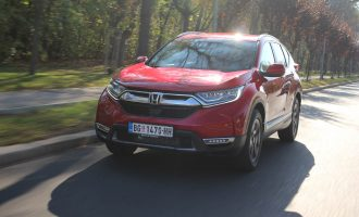 TEST: Honda CR-V 1,5 VTEC Turbo CVT AWD Lifestyle
