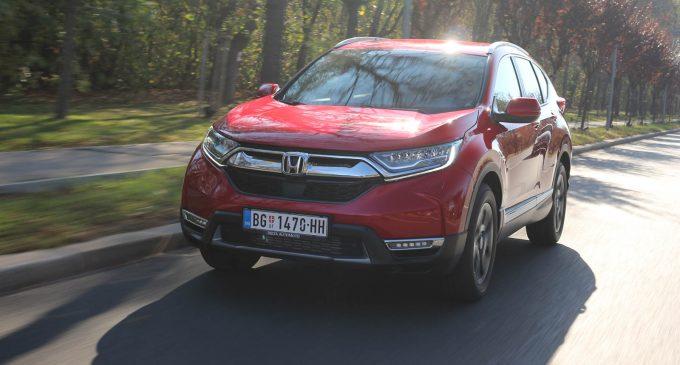 TEST: Honda CR-V 1,5 VTEC Turbo CVT AWD Lifestyle
