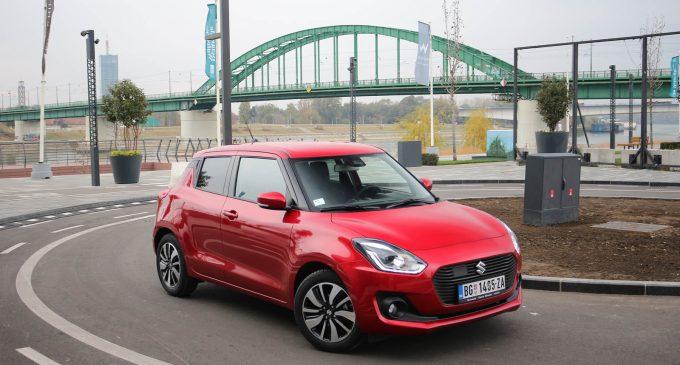 TEST: Suzuki Swift 1,2 Dualjet SHVS Elegance