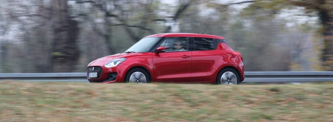 TEST: Suzuki Swift 1,2 Dualjet SHVS Elegance