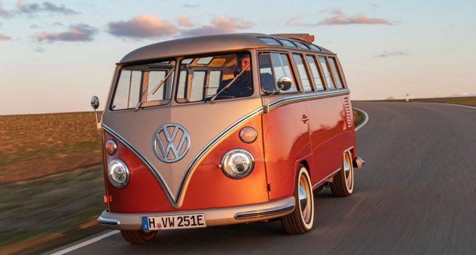 VW T1 Samba Bus je konvertovan na struju i košta 64.900 evra