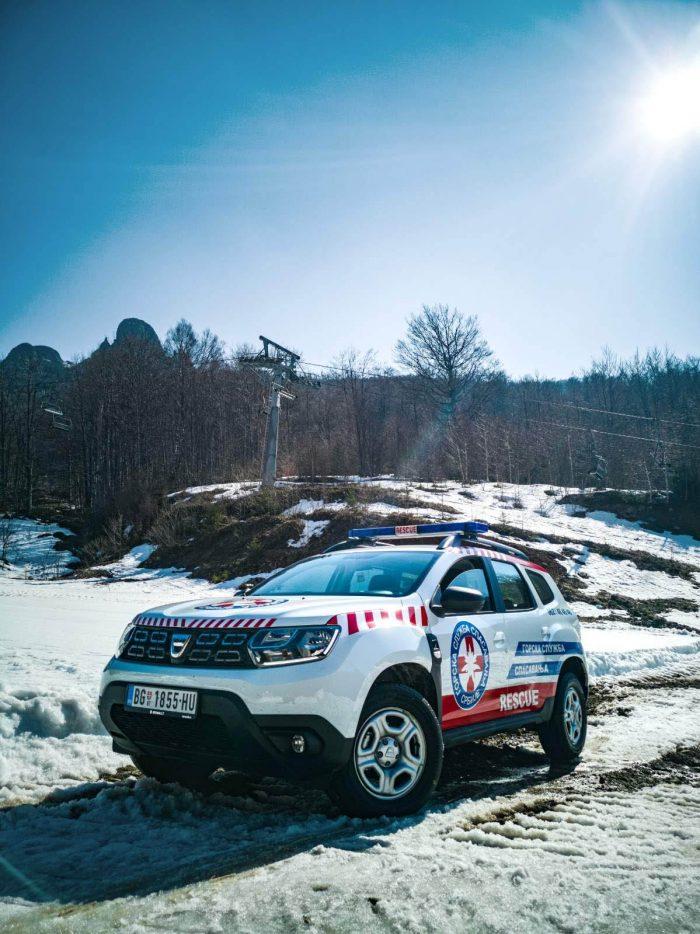 auto magazin srbija dacia duster gorska služba spasavanja