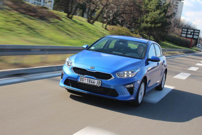 Auto magazin Srbija Test Kia Ceed 1.0 T-GDI